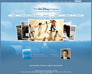 The Walt Disney Company 2008 Corporate Responsibility Report